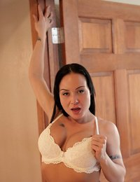Housewife seductress teases..